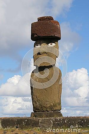 Single statue of Ahu Tahai, Ea