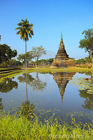 Single Stupa - Sukhothai Historical Park