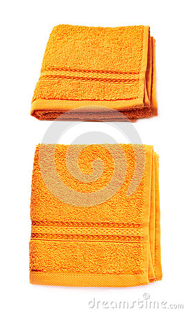Free Single Terry Cloth Towel Isolated Stock Photos - 68899623
