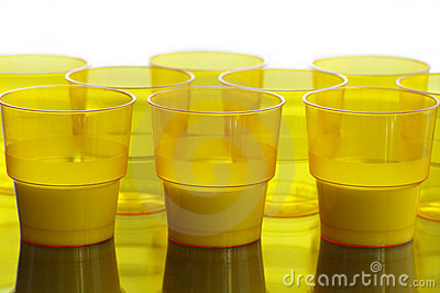 Single-time cups