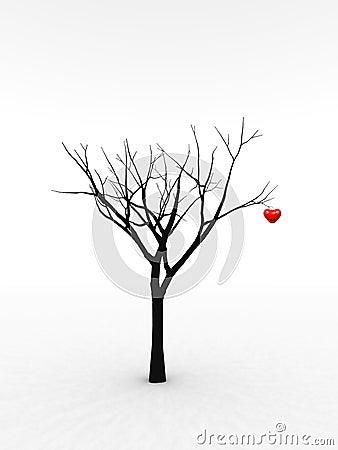 Single Tree With Love