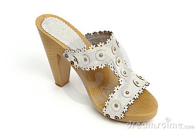 Single woman shoes