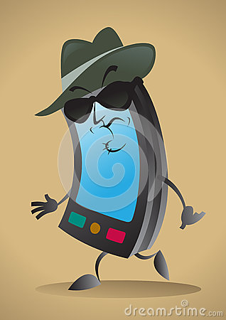 Sinister Cell Phone Character