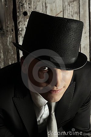 Free Sinister Man Royalty Free Stock Photography - 18433617