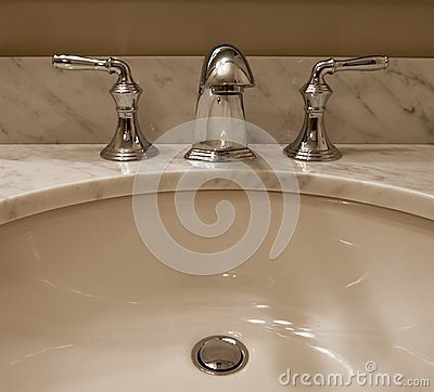 Sink and taps