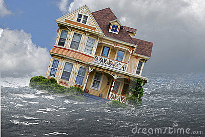 Sinking House foreclosure