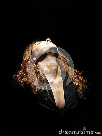 Sinnesrörelser henne kvinna