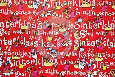 Sinterklaas bakgrund