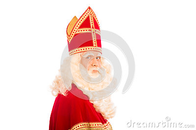 Sinterklaas white background