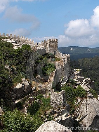 Free Sintra - Castelo Dos Mouros Royalty Free Stock Photography - 19903057