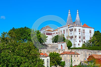 The Sintra National Palace Royalty Free Stock Photography - Image: 20512097