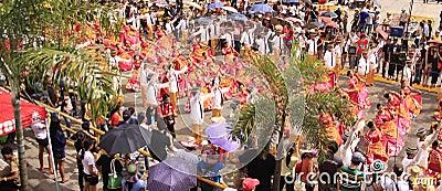 Sinulog Cebu Parade Celebration Editorial Stock Image