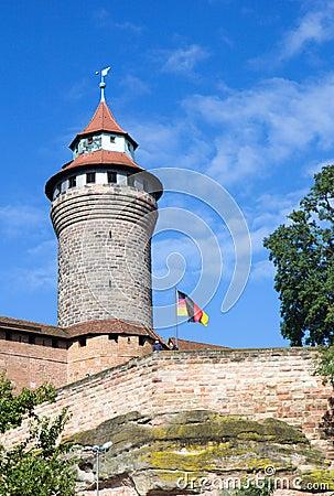 Sinwell Tower at Nuremberg Imperial Castle