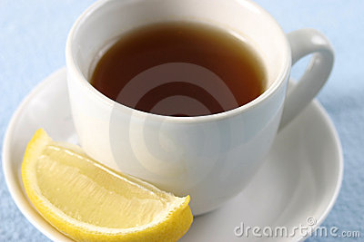 Sip of Tea with Lemon