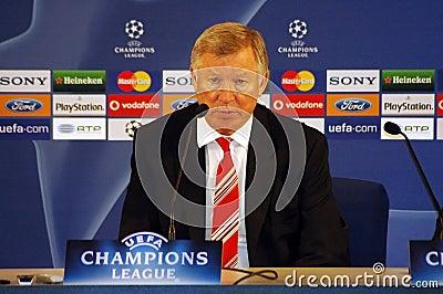 Sir Alex Ferguson Editorial Photography