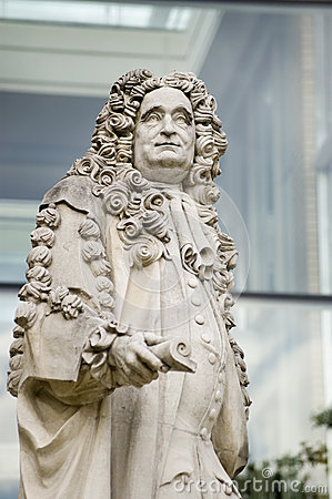 Sir Hans Sloane Statue Editorial Stock Photo