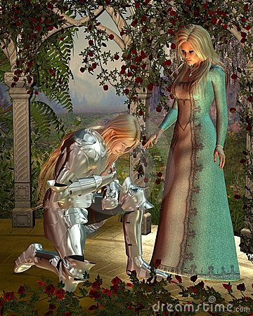 Free Sir Launcelot And Queen Guinevere Stock Photography - 13926912