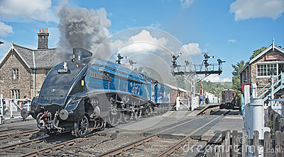 Sir Nigel Gresley Editorial Photography