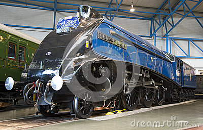 Sir Nigel Gresley at York Railway Museum Editorial Image