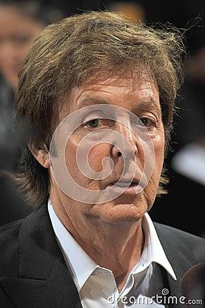 Sir Paul McCartney Editorial Image