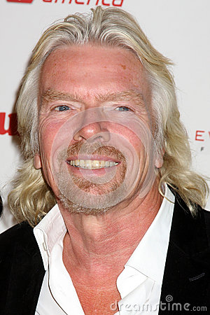Sir Richard Branson Editorial Stock Photo