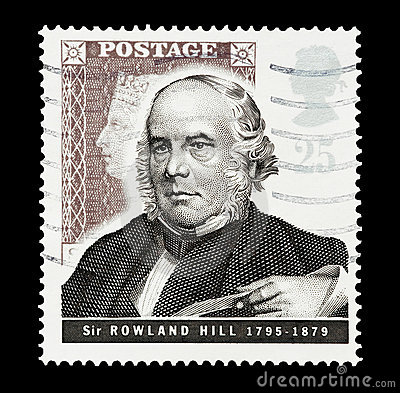 Sir Rowland Hill Editorial Stock Image