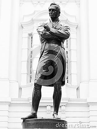 Sir Stamford Raffles.