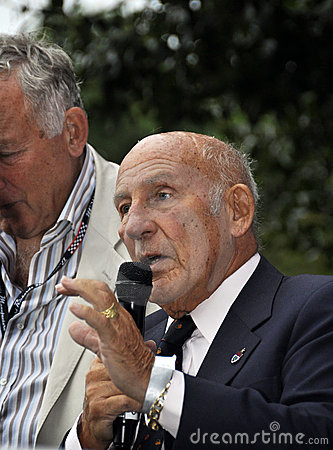 Sir Stirling Moss Editorial Stock Photo