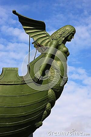 Siren of the Rostral column