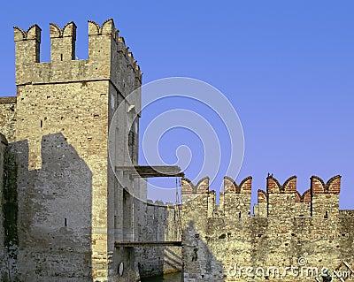 Sirmione drawbridge