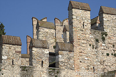 Sirmione (Italy) - Castle s battlements
