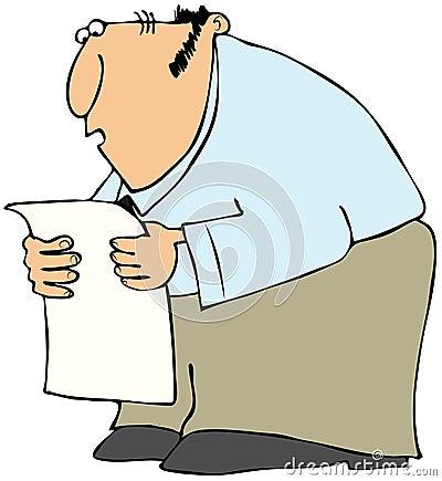 Sirva la lectura de una lista larga