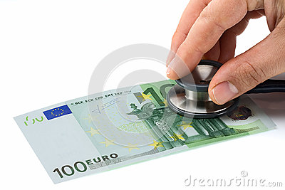 El doctor Examining Health del euro