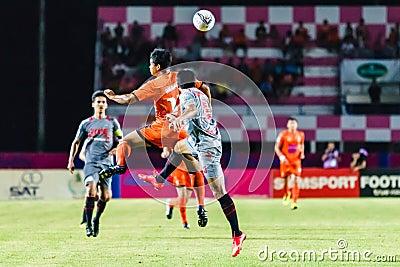 SISAKET THAILAND-JUNE 29: Eakkapan Nuikhao of Sisaket FC. Editorial Photography