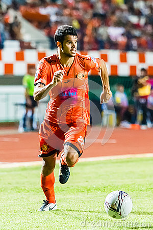 SISAKET THAILAND-JUNE 29: Victor Amaro of Sisaket FC. Editorial Photo