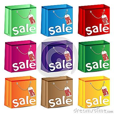 Sistema de paquetes multicolores
