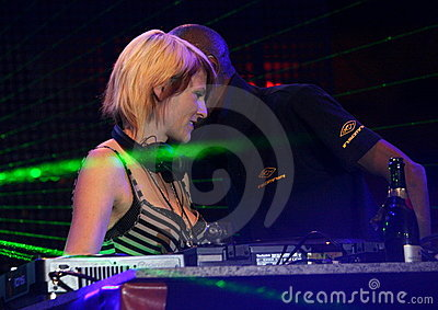 Sister Bliss & Maxi Jazz Editorial Stock Photo