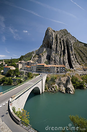 Sisteron bridge
