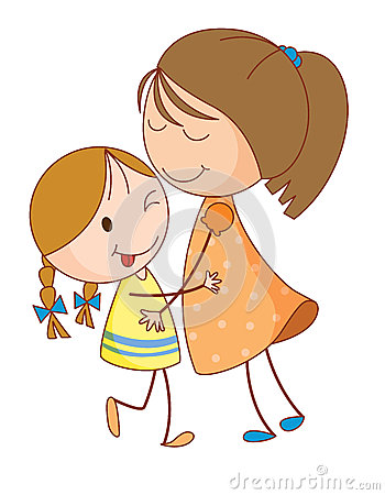 two sisters clipart rh worldartsme com sister clip art calligraphy sisters clipart free