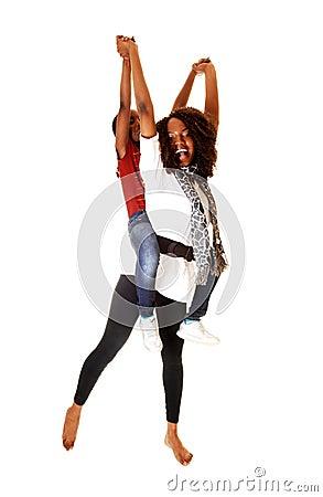 Free Sisters Having Fun. Royalty Free Stock Images - 29645109