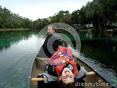 Sisters Rowing