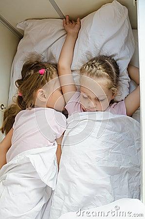 two girls nude sleep