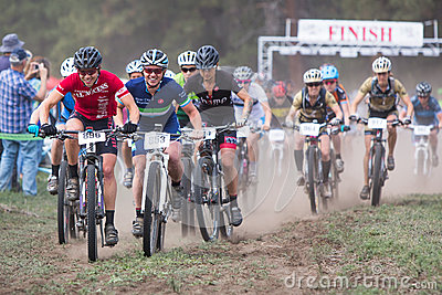 2014 Sisters Stampede Mountain Bike Race Editorial Image