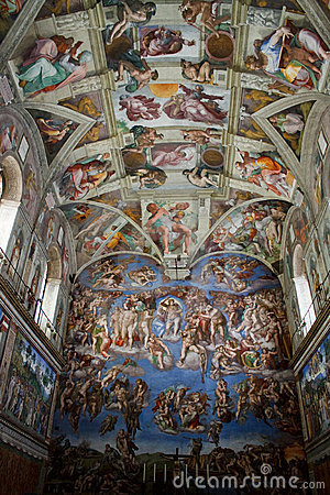 Free Sistine Chapel Royalty Free Stock Photo - 13804355