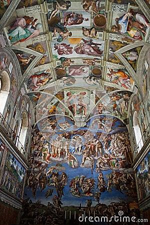 Sistine Chapel Editorial Image
