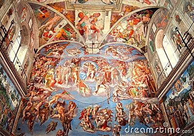 Sistine Chapel, The Last Judgment