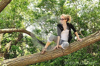 Sit on a branch