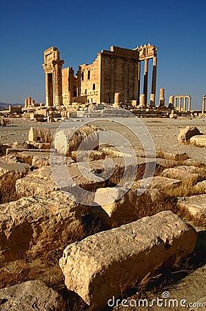 Free Site Of Palmyra Syria Stock Images - 15890674