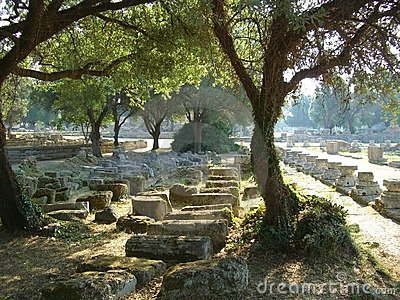 Site of Olympia in Greece