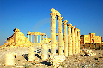 Site of Palmyra Syria